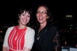 Jodi De Vantier (QWC's Uber Editor of WQ); Hinemoana Baker (Arts Qld's Poet in Residence)